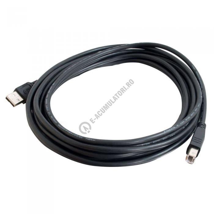 Cablu USB C2G USB 2.0 A/B 2m 81566-big