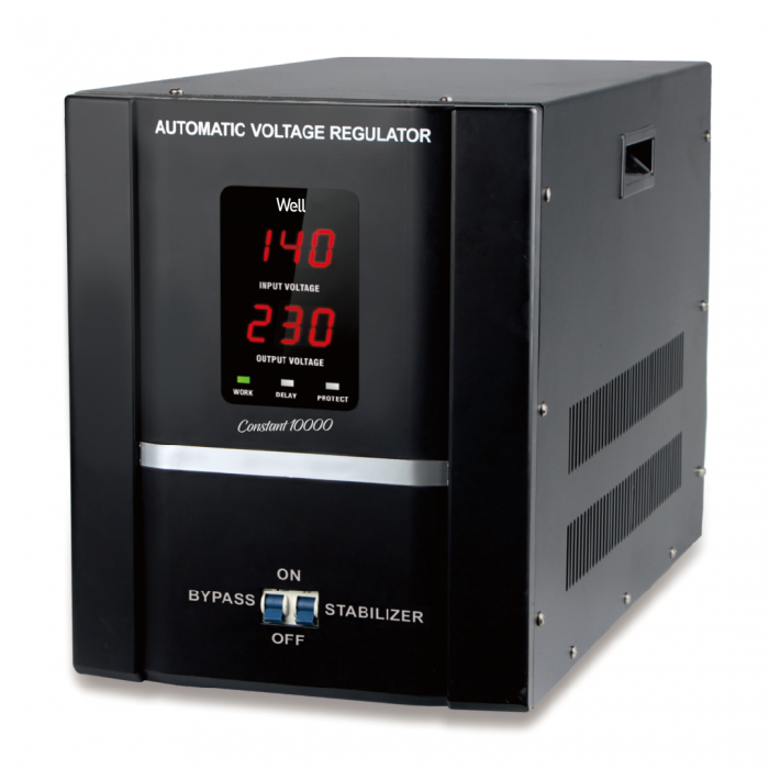 Stabilizator automat de tensiune cu servomotor Well 5000VA/3000W AVR-SRV-CONSTANT5000-WL-big