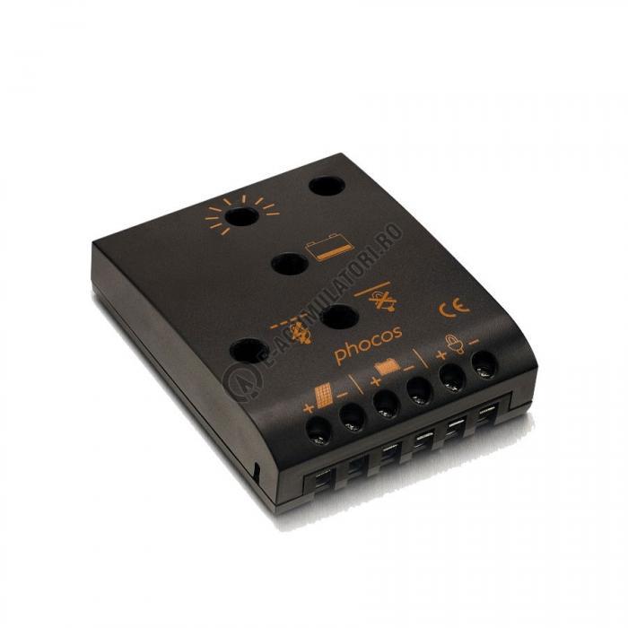 Controlor incarcare solara  Phocos CA 12V 5/6A cod CA06-2.2-big