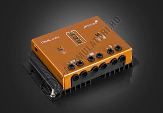 Controlor incarcare solara  Phocos CMLsolid, 12/24 V 30/30 A, ROHS cod CMLsolid30-big
