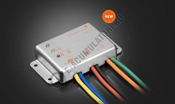 Controlor incarcare solara Phocos ECO 12V, 10/10 A, LVD, IP68, ROHS cod ECO10-big