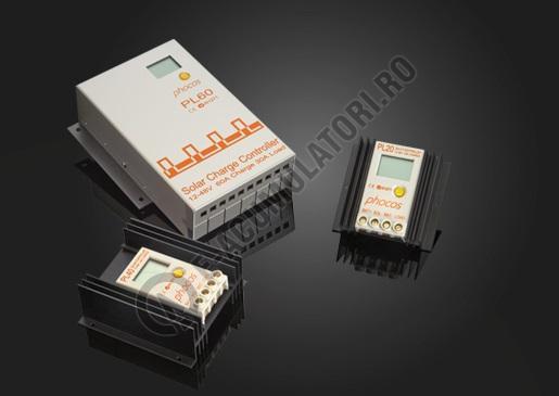 Controlor incarcare solara Phocos PL 40/7A; ROHS cod PL40-1.1-big