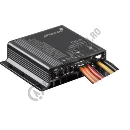 Controlor industrial incarcare solara Phocos CIS, negativ grounding, 12/24V, 10/10 A, IP68, timer cod CIS-N-10-1.0-big
