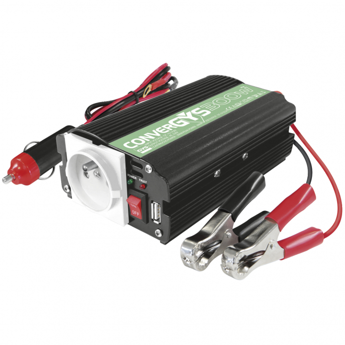 Invertor Unda Modificata 300W GYS 12V Convergys 027053-big