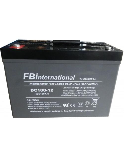 Acumulator VRLA FB International GEL 12V 100 Ah DCG100-12-big
