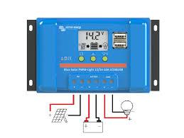 Controller solar BlueSolar PWM-LCD&USB 12/24V-5A-big