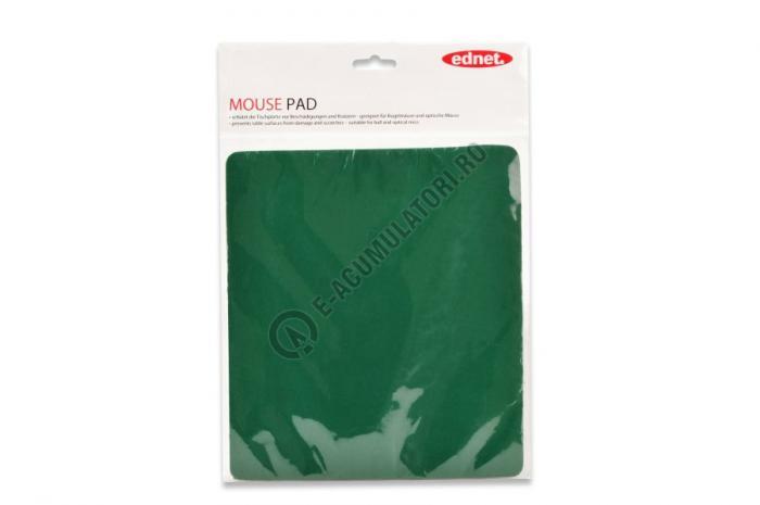 Ednet Mouse Pad, verde cod 64219-big
