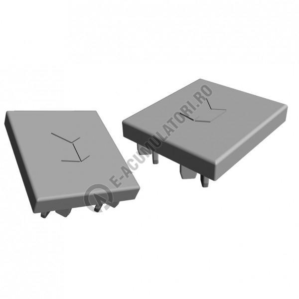Element terminal sina Renusol Cap VS+ Mounting rail 41x35 (gri) 2 buc 920046-big