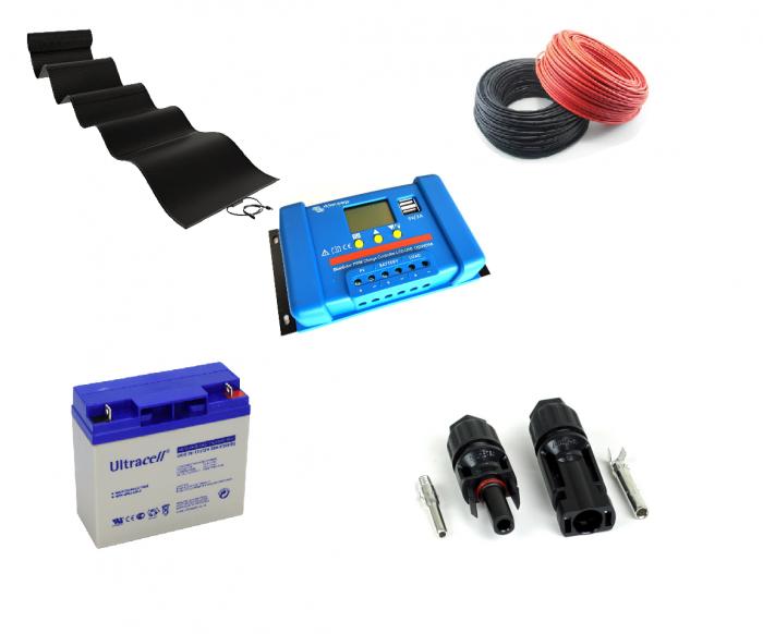 Kit Fotovoltaic, 30Wp, autoadeziv, PowerToMe-big