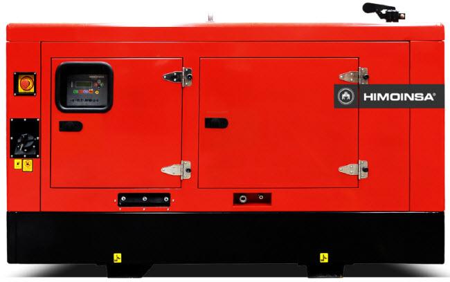 Generator de curent diesel trifazic HIMOINSA 24kw HHW-35 T5-big