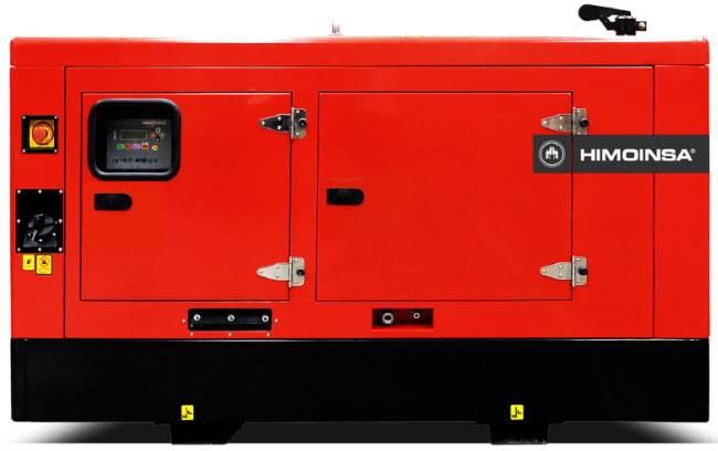 Generator de curent diesel trifazic HIMOINSA 33kw HHW-40 T5-big