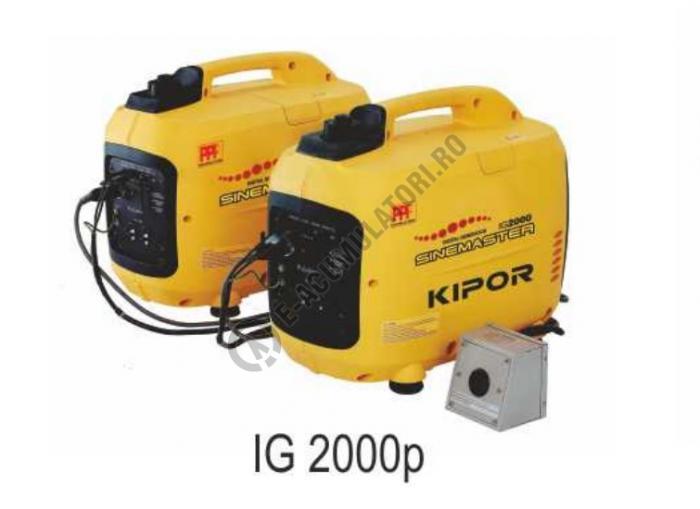 Generator Digital Kipor IG2000 monofazat portabil digital 1600 VA-big