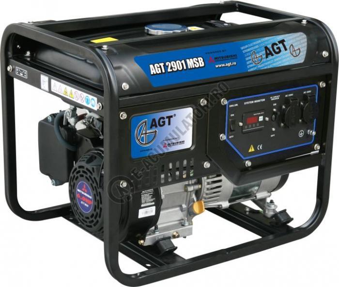 Generator monofazat AGT 2901 MSB echipat cu motor Mitsubishi-big