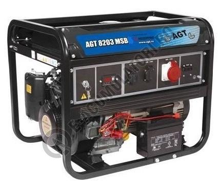 Generator monofazat AGT 8203 MSB echipat cu motor Mitsubishi-big