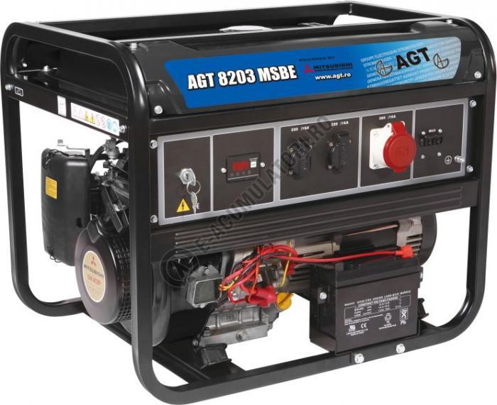 Generator monofazat AGT 8203 MSBE echipat cu motor Mitsubishi-big
