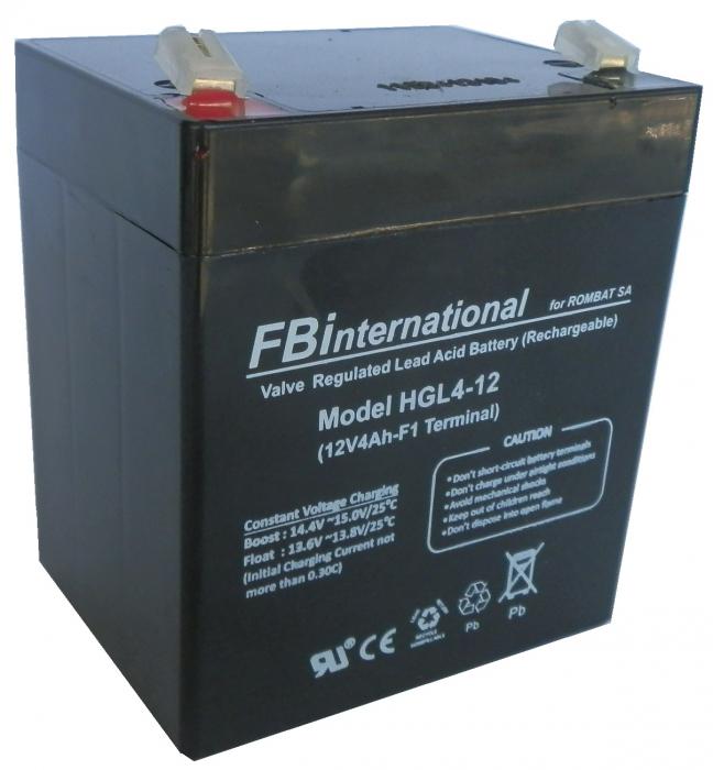 Acumulator VRLA FB International 12V 4Ah HGL4-12-big