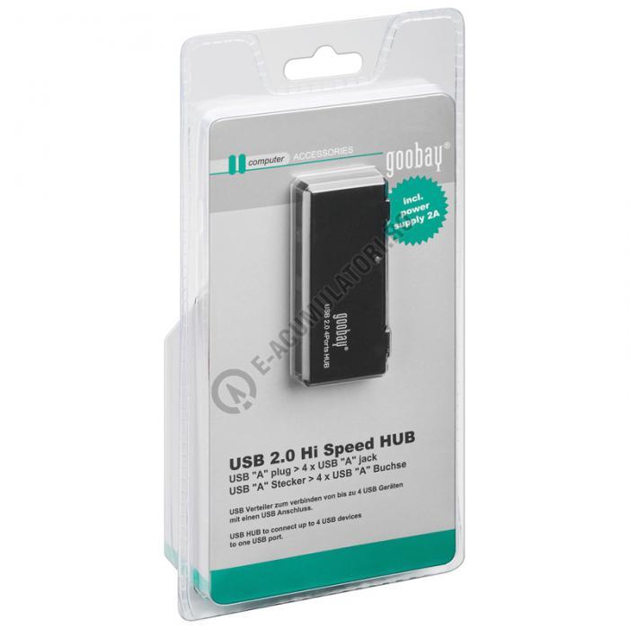 HUB 4 Porturi USB 2.0 Hi Speed Goobay cod 95912-big