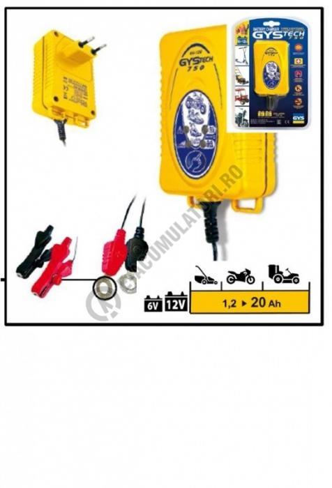 Incarcator Auto GYS 6/12 V GYSTECH 750 cod 024977-big