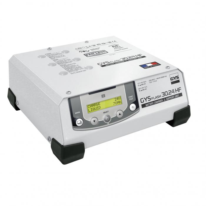 Incarcator si redresor automat 12/24V GYSFLASH PRO 30.24 HF 029231-big