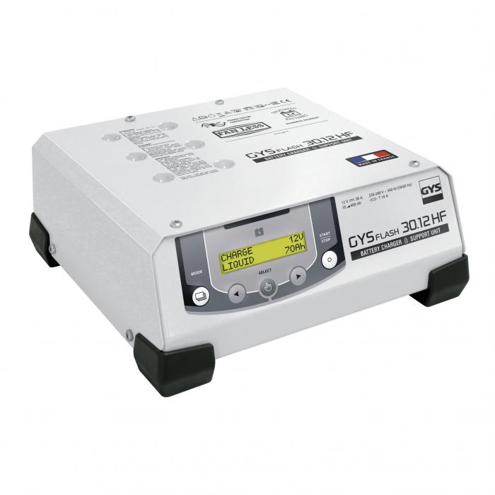 Incarcator si redresor automat 12V GYSFLASH PRO 30.12 HF 029224-big