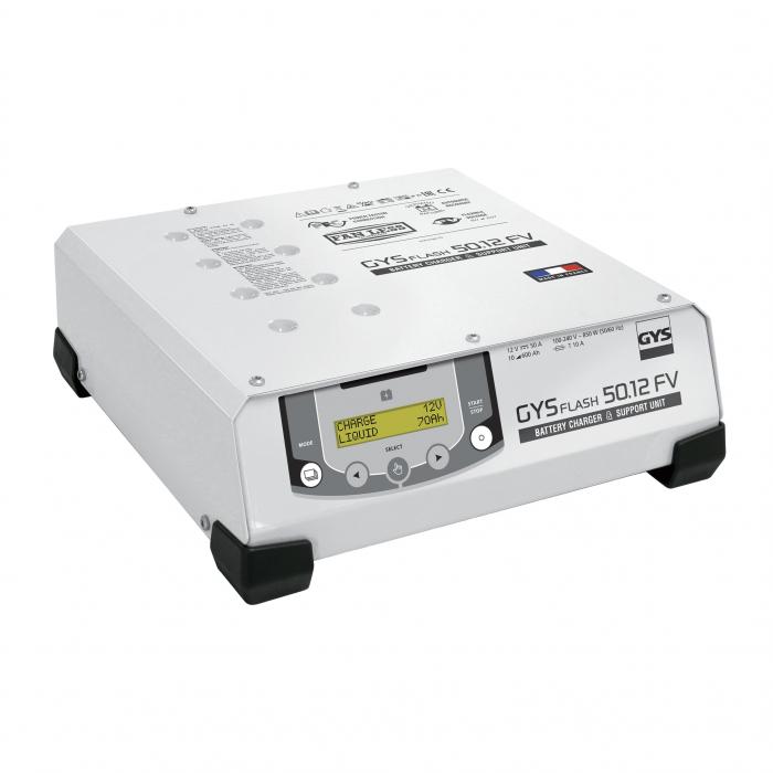 Incarcator si redresor automat 6/12/24V GYSFLASH PRO 50.24 HF FV 029620-big