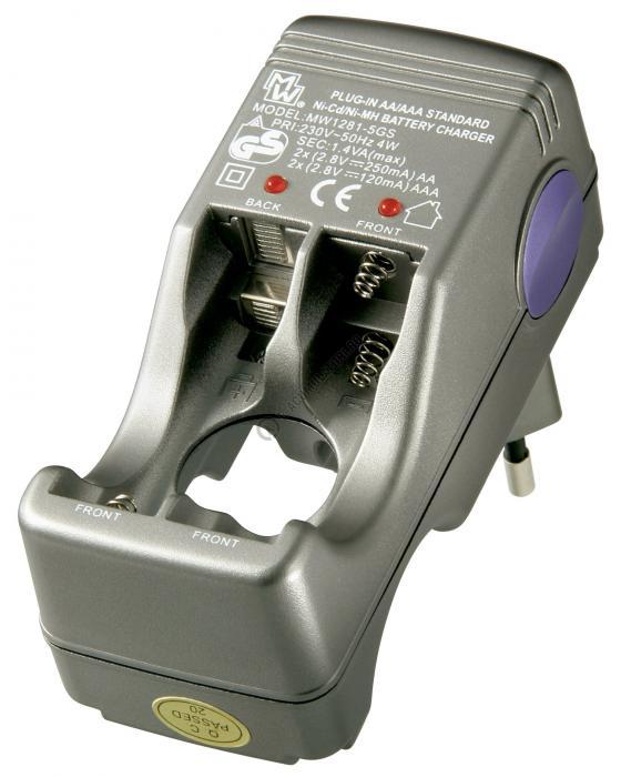 Incarcator Compact Goobay pentru pana la 4x AA/AAA 78284 R6 R3-big