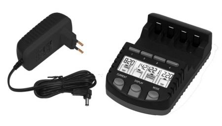 Incarcator inteligent R6 R3 LaCrosse multifunctional RS700-BLI AA/AAA-big