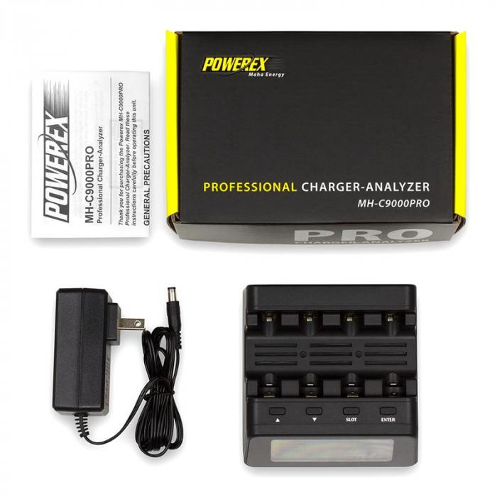 Incarcator inteligent R6 R3 Maha Powerex C9000Pro-big