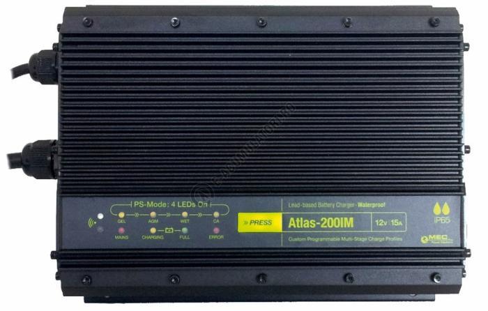 Incarcator Premium IVT Atlas-200IM 12V/15A cod 900022-big
