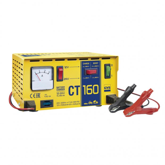 Incarcator si redresor Traditional 12/24V GYS CT 160 cod 024106-big