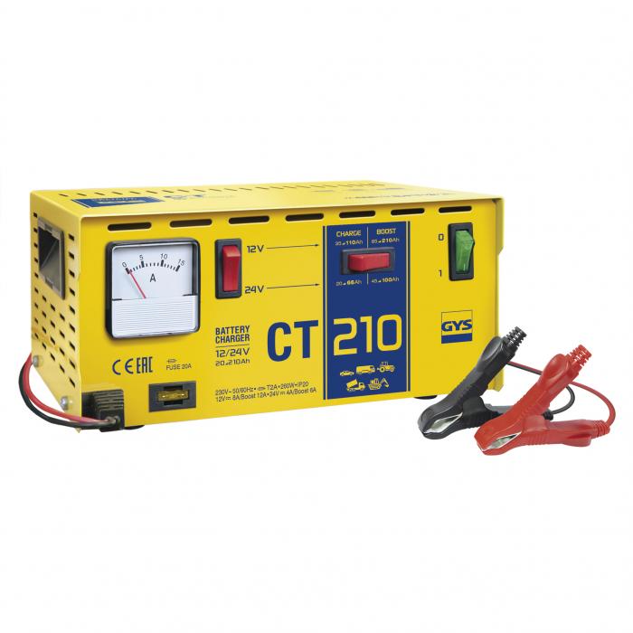Incarcator si redresor Traditional 12/24V GYS CT 210 cod 024113-big
