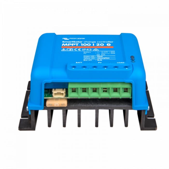 Incarcator solar 12V 24V 20A Victron Energy SmartSolar MPPT 100/20-big