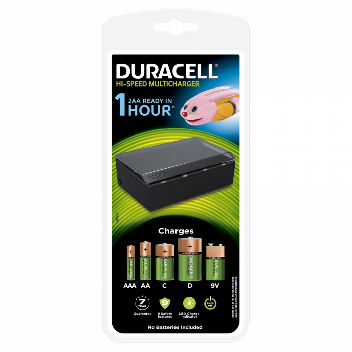 Incarcator universal Duracell cu microprocesor CEF22 R6 R3-big
