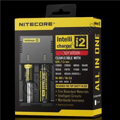 Incarcator Universal Inteligent NITECORE i2 ALL-IN-ONE, Li-Ion, Ni-Mh, Ni-Cd-big