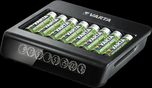 Incarcator Varta LCD Multi Charger+ 57681 AAA, AA 8 canale-big