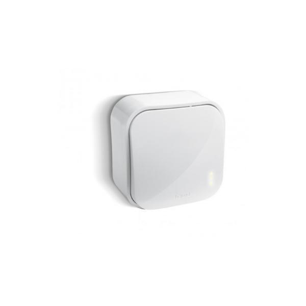Intrerupator buton 6A alb Legrand Forix 782405-big