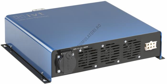 Invertor Digital IVT undă sinusoidală DSW-2000-Synchro/24 V cod 430110-big