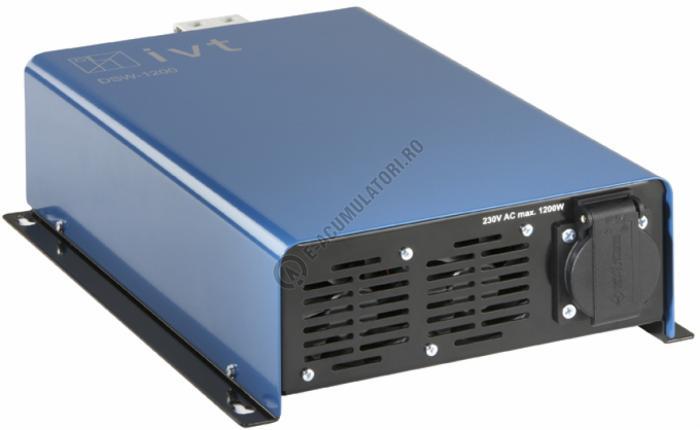 Invertor Digital IVT undă sinusoidală DSW1200-12 V cod 430105-big