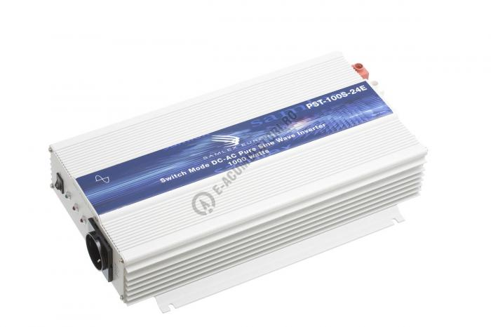 Invertor profesional SAMLEX PST-100S-24E 1000W Pur Sinus DC/AC-big
