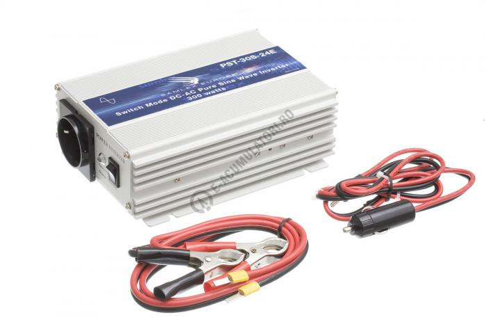 Invertor profesional SAMLEX PST-30S-24E 300W Pur Sinus DC/AC-big