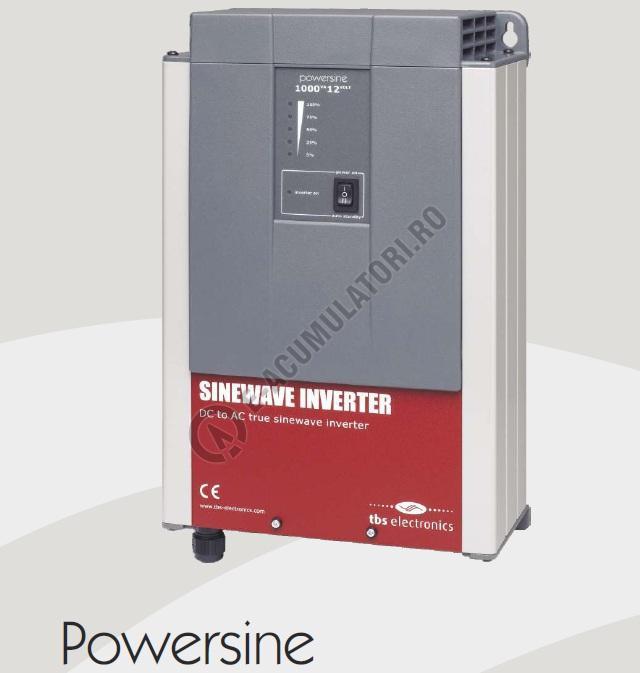 INVERTOR PROFESIONAL TBS POWERSINE 1000-12 PUR SINUS DC/AC-big