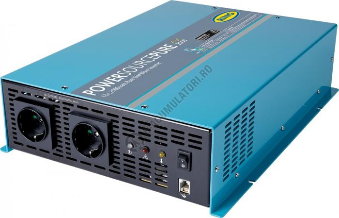 Invertor profesional RING Pure Sine Wave 12V 2000W cod REINVP2000-big
