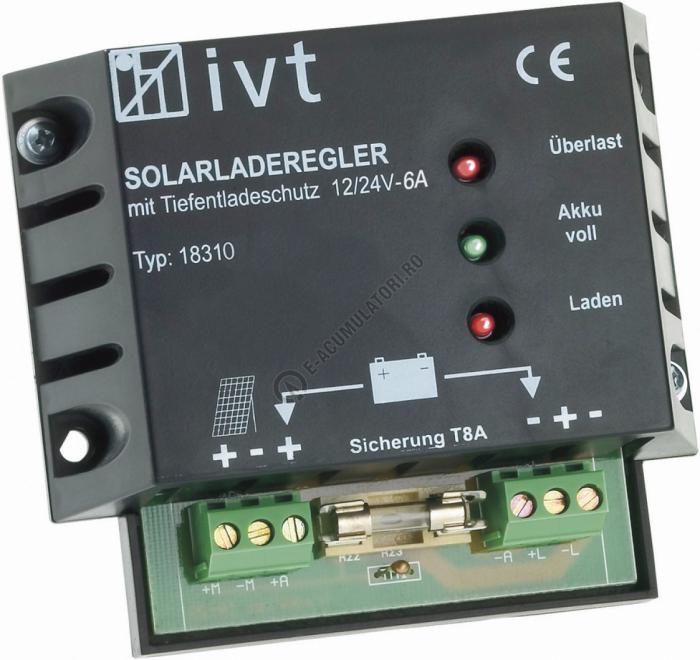 IVT Solar Charge Controller 12/24V 6 A 200032-big