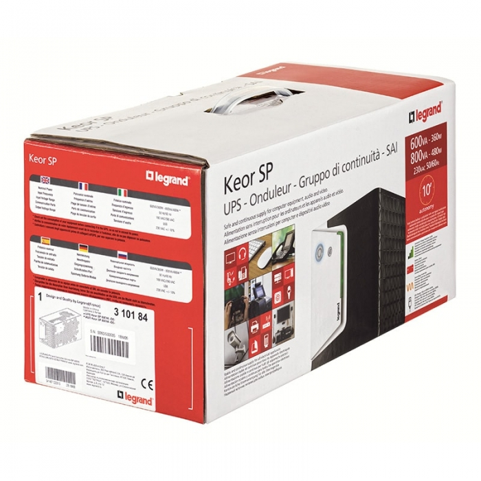 UPS Legrand Keor SP 600 GR 310181-big