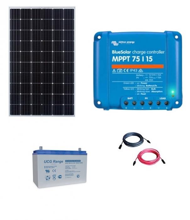 Kit cu panou fotovoltaic de 300w-big