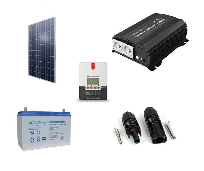 Kit Fotovoltaic Off-Grid 300W + invertor 600W-big