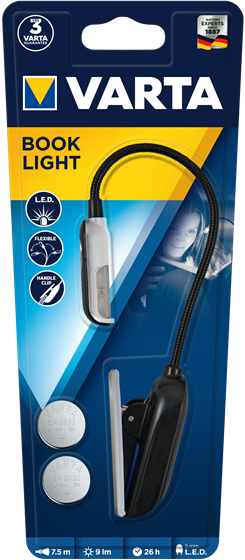 Lampa de citit Varta LED Book Light 2CR2032 16618-big