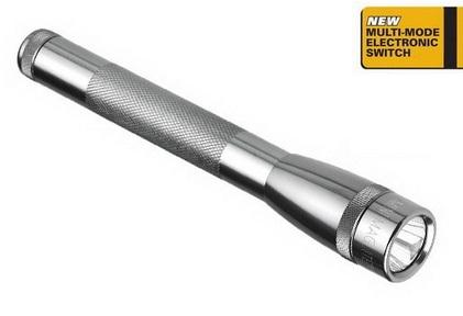 Lanterna cu LED MiniMaglite 2AA SP22 argintiu-big