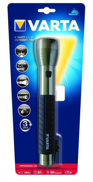 Lanterna Varta 18627 4-Watt LED Outdoor Pro 3C-big
