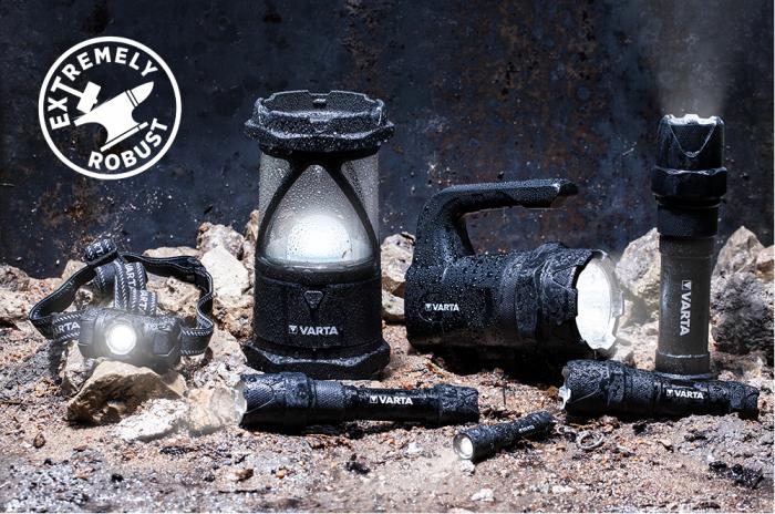 Lanterna Varta Indestructible Camping L30 PRO LED 18761-big